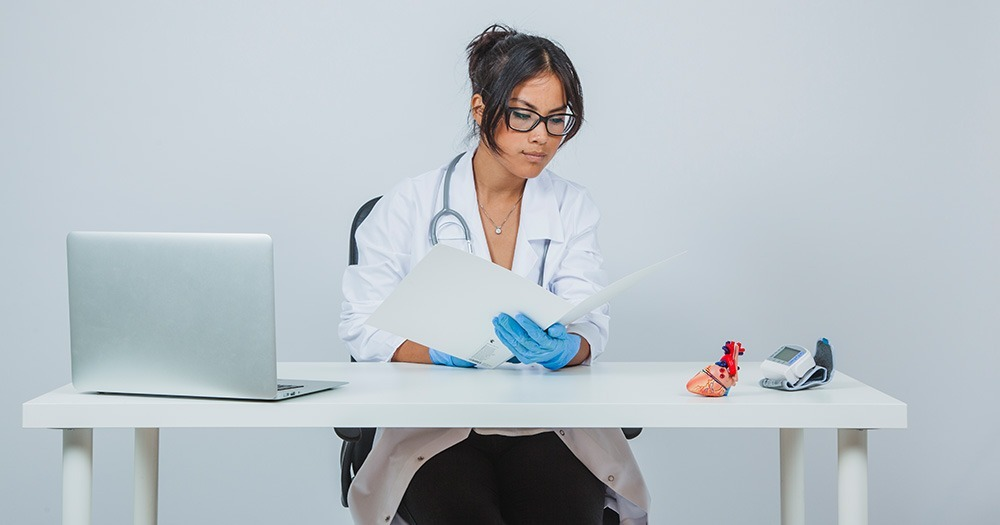 medical practice owner using the iDocsNOW EMR system